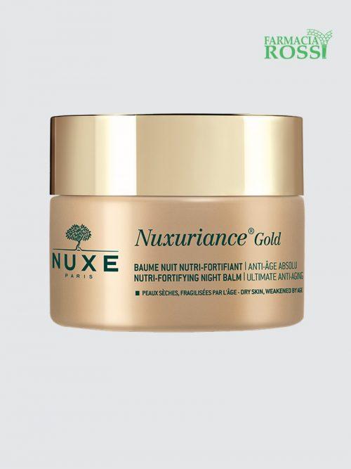 Balsamo Notte Nutriente Fortificante 50ml Nuxuriance Gold | Farmacia Rossi
