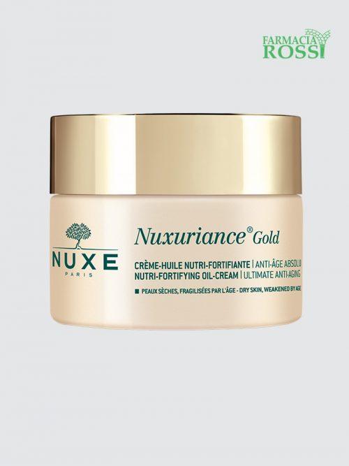 Crema Olio Nutriente Fortificante 50ml Nuxuriance Gold   Farmacia Rossi