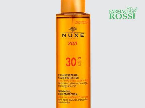 Olio Solare Viso e Corpo SPF 30 Nuxe Sun | FARMACIA ROSSI
