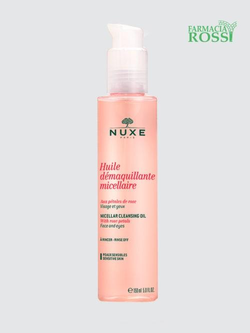 Olio Struccante Micellare ai Petali di Rosa Nuxe | FARMACIA ROSSI