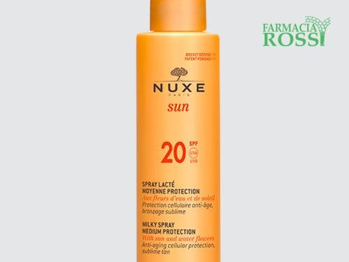 Spray Solare Viso e Corpo SPF 20 Nuxe Sun | FARMACIA ROSSI