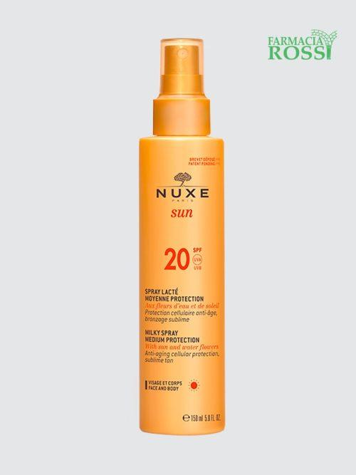 Spray Solare Viso e Corpo SPF 20 Nuxe Sun   FARMACIA ROSSI