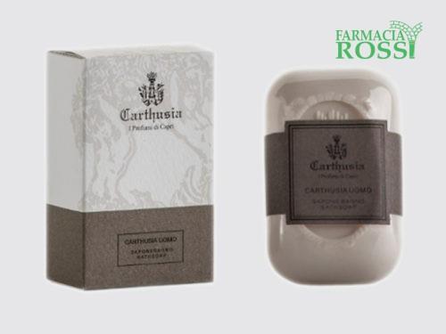 Carthusia Uomo Saponetta | FARMACIA ROSSI CASALPUSTERLENGO