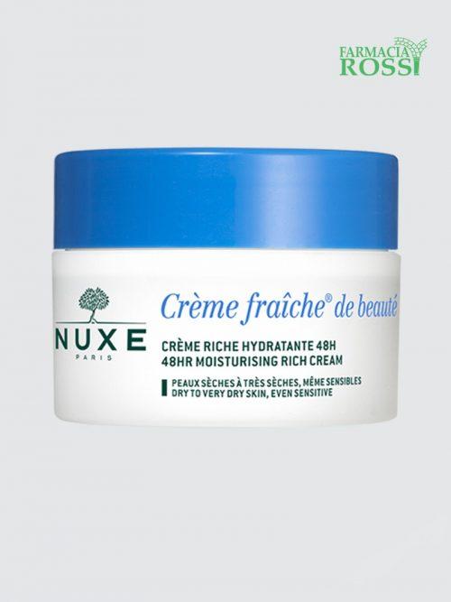 Crema Giorno Pelli Secche Crème Fraîche® De Beauté 50ml Nuxe | Farmacia Rossi
