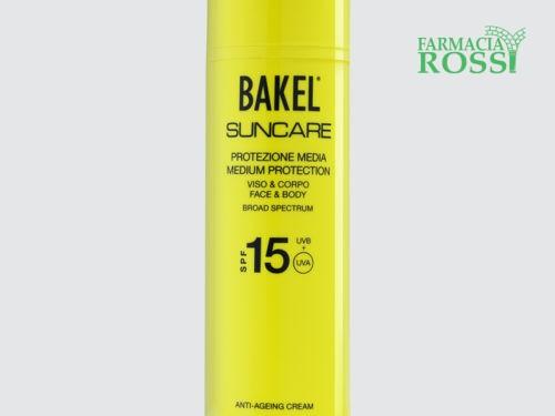 Protezione Solare Viso & Corpo SPF 15 Bakel   FARMACIA ROSSI