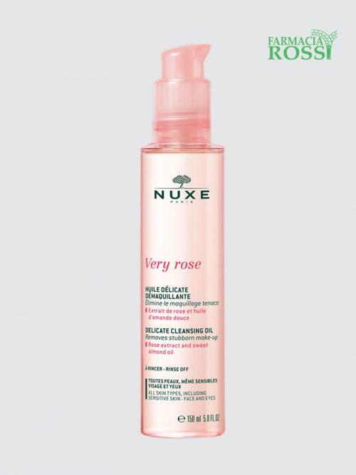 Olio Delicato Struccante Very Rose 150 Ml Nuxe   Farmacia Rossi