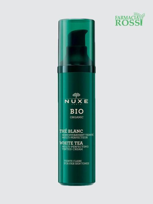 Crema Idratante Colorata Tè Bianco Colore Chiaro BIO Nuxe | FARMACIA ROSSI