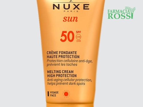 Crema solare anti-età viso SPF 50 Nuxe Sun   FARMACIA ROSSI