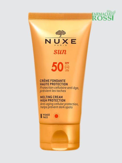 Crema solare anti-età viso SPF 50 Nuxe Sun | FARMACIA ROSSI