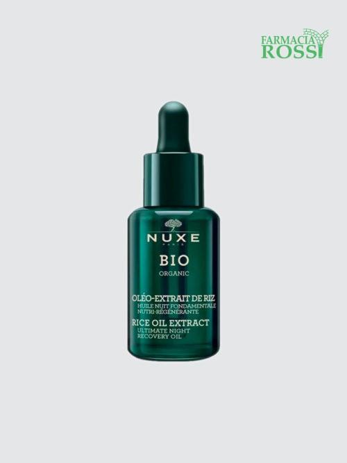Olio notte nutriente rigenerante con Olio di Riso BIO Nuxe | FARMACIA ROSSI