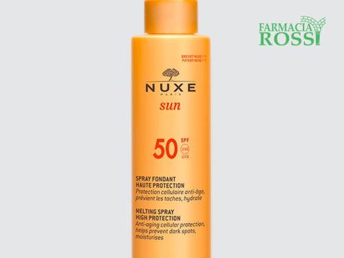 Spray Solare viso e corpo - Alta protezione - SPF 50 Nuxe Sun   FARMACIA ROSSI