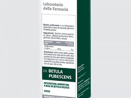 Betula Pubescens Mg 50 Ml Laboratorio Della Farmacia | Farmacia Rossi