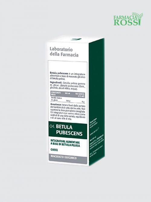 Betula Pubescens Mg 50 Ml Laboratorio Della Farmacia   Farmacia Rossi