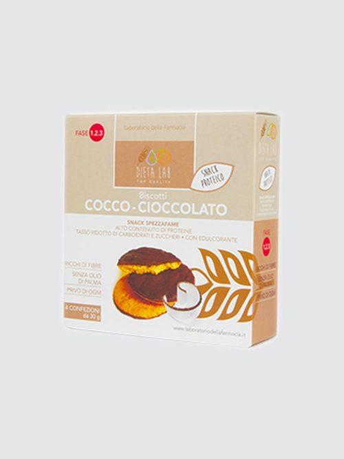 Biscotti Cocco Cioccolato Dieta Lab | FARMACIA ROSSI