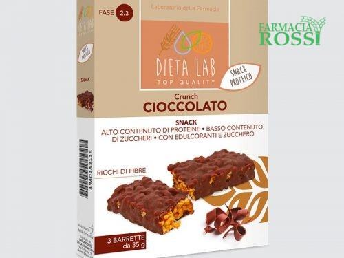 Crunch al Cioccolato Dieta Lab | FARMACIA ROSSI