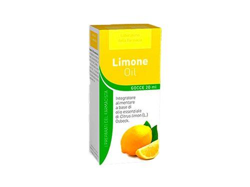 Limone Olio Essenziale 20ml Laboratorio Della Farmacia   Farmacia Rossi