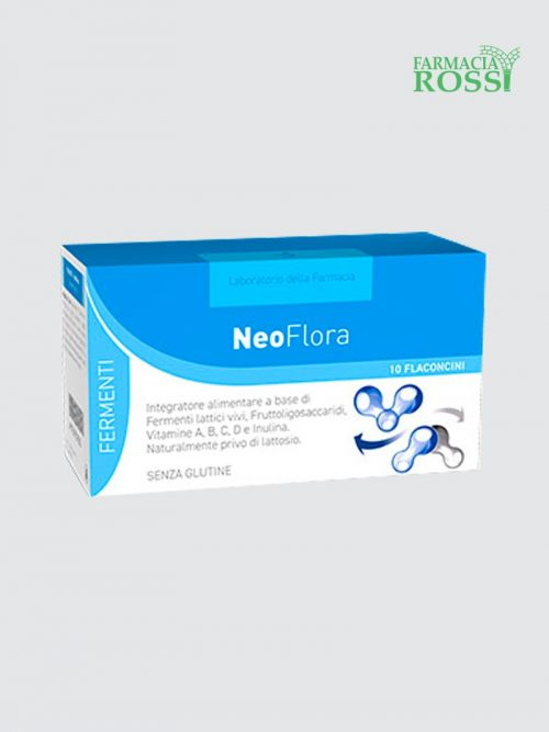 Neoflora 10 Flaconcini Laboratorio Della Farmacia   Farmacia Rossi