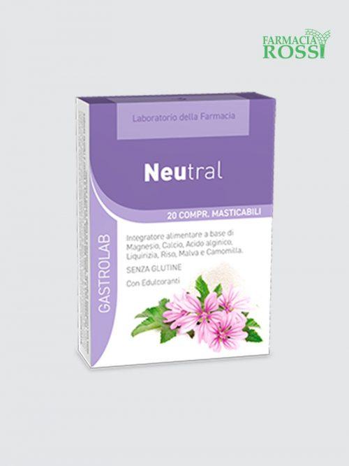 Neutral 20 Compresse Masticabili Laboratorio Della Farmacia | Farmacia Rossi