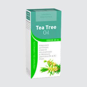 Tea Tree Oil Olio Essenziale Laboratorio della Farmacia