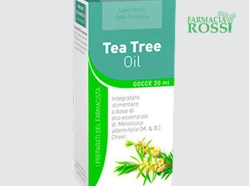 Tea Tree Oil olio essenziale Laboratorio della Farmacia   FARMACIA ROSSI