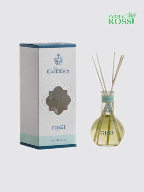 Ampolla Casa Via Camerelle Profumatore Ambiente 100ml Carthusia | Farmacia Rossi