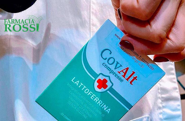 Integratore Lattoferrina CovAlt compresse   FARMACIA ROSSI
