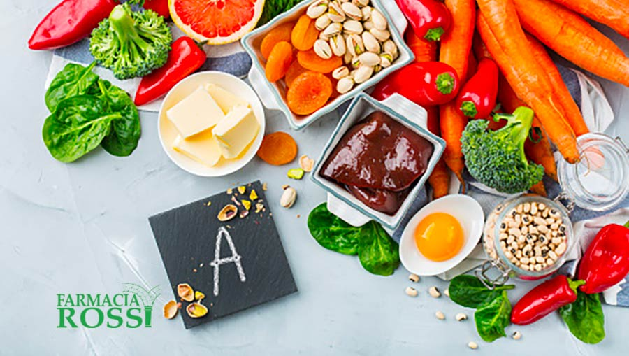 La Vitamina A e le sue Proprietà | FARMACIA ROSSI