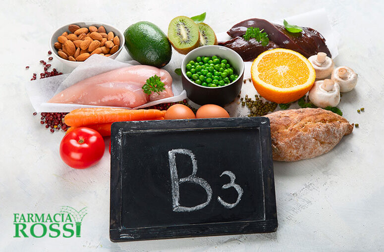 Vitamina B3 e Vitamina B4 | FARMACIA ROSSI