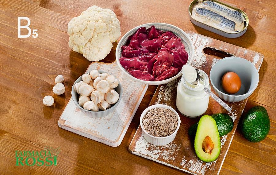 Vitamina B5 e B6: a cosa servono e dove sono | FARMACIA ROSSI
