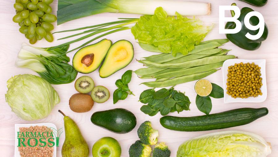 La vitamina B9, o acido folico | FARMACIA ROSSI