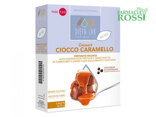 Dessert Proteico al Cioccolato e Caramello   FARMACIA ROSSI
