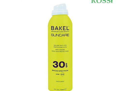 Solare Spray Viso Corpo Spf 30 150ml Bakel | Farmacia Rossi