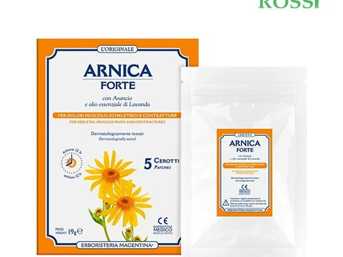 Arnica Forte Cerotti 5 Pezzi Erboristeria Magentina   Farmacia Rossi