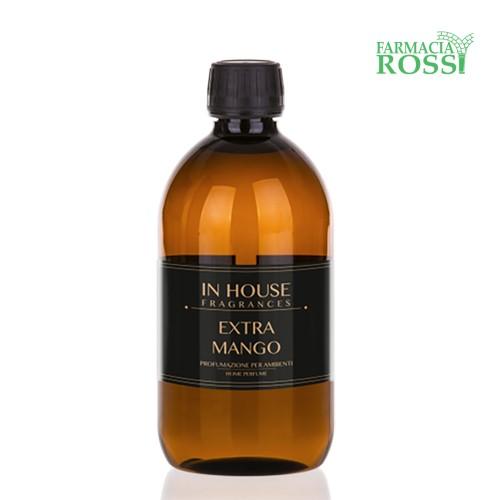 Extra Mango Profumatore Ambiente Premium Ricarica 500ml In House   Farmacia Rossi