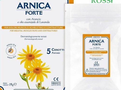 Arnica Forte Cerotti 5 Pezzi Erboristeria Magentina | Farmacia Rossi