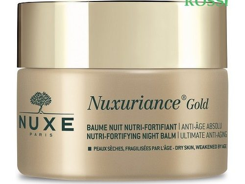 Balsamo Notte Nutriente Fortificante 50ml Nuxuriance Gold   Farmacia Rossi