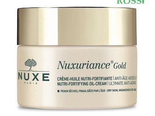 Crema Olio Nutriente Fortificante 50ml Nuxuriance Gold | Farmacia Rossi