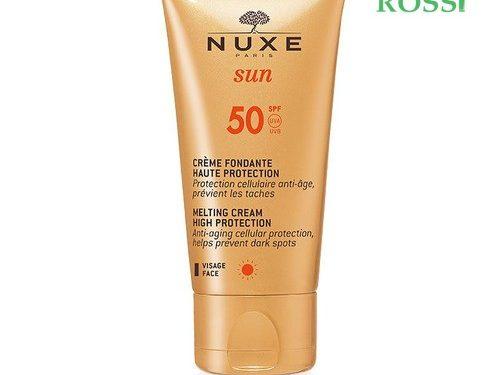 Crema Solare Antietà Viso Spf 50 Nuxe Sun | Farmacia Rossi