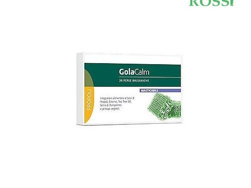 Golacalm Perle 20 Perle Balsamiche Laboratorio Della Farmacia | Farmacia Rossi