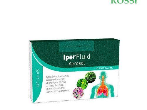 Iperfluid Aerosol 10 Flaconi Laboratorio Della Farmacia | Farmacia Rossi