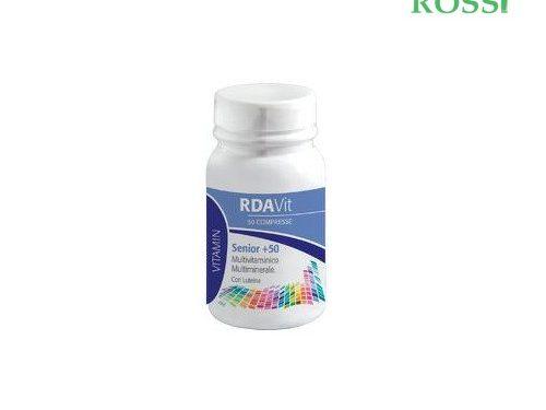 Rda Vit Senior 50+ 60 Compresse Laboratorio Della Farmacia | Farmacia Rossi