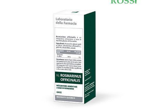 Rosmarino Officinale Mg 50 Ml Laboratorio Della Farmacia | Farmacia Rossi