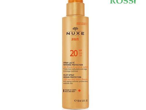 Spray Solare Viso E Corpo Spf 20 150ml Nuxe Sun | Farmacia Rossi