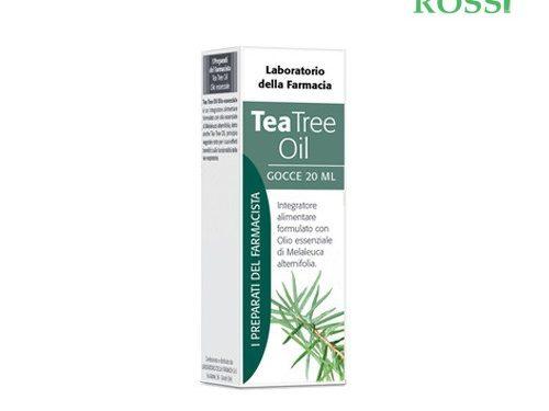Tea Tree Oil Olio Essenziale 20ml Laboratorio Della Farmacia | Farmacia Rossi